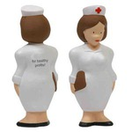 Custom Printed Nurse Shaped Stress Relievers
