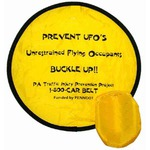 Custom Printed Nylon Flying Saucers and Discs