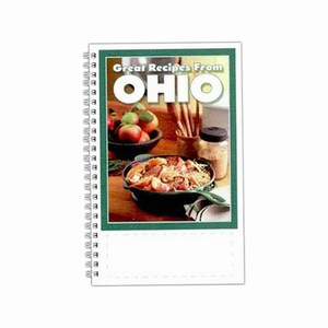 Custom Printed Ohio State Cookbooks