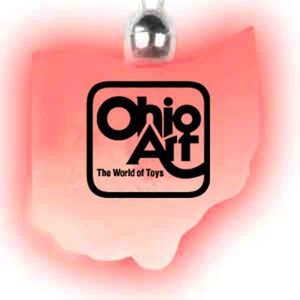 Custom Printed Ohio State Shaped Lighted Necklaces