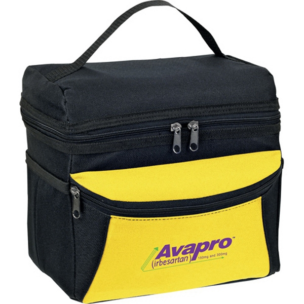1 Day Service Zippered Insulated Bags, Custom Printed With Your Logo!