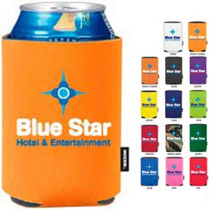 Custom Imprinted Orange Color Can Coolers