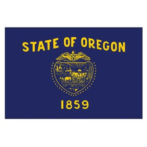 Custom Printed Oregon State Flags