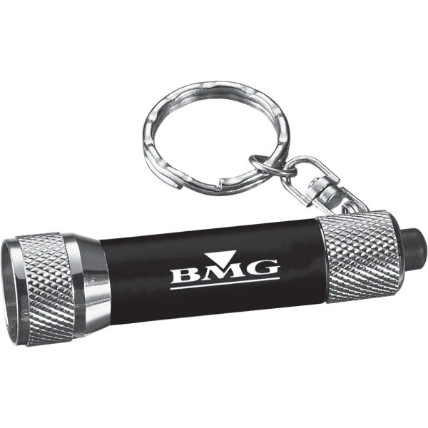 1 Day Service Single Bulb Flashlights, Custom Made With Your Logo!