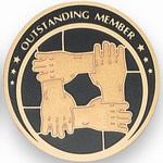 Custom Engraved Outstanding Membership Emblems and Seals
