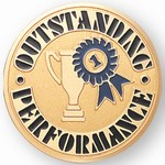 Custom Engraved Outstanding Performance Emblems and Seals