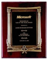 Tropar Award Plaques Engraved, Custom Engraved With Your Logo!