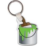 Custom Imprinted Paint Can Key Chains