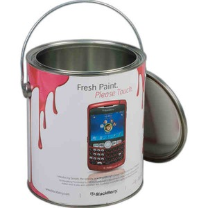 Paint Cans, Custom Printed With Your Logo!