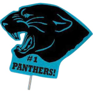 Custom Printed Panther Mascot Signs