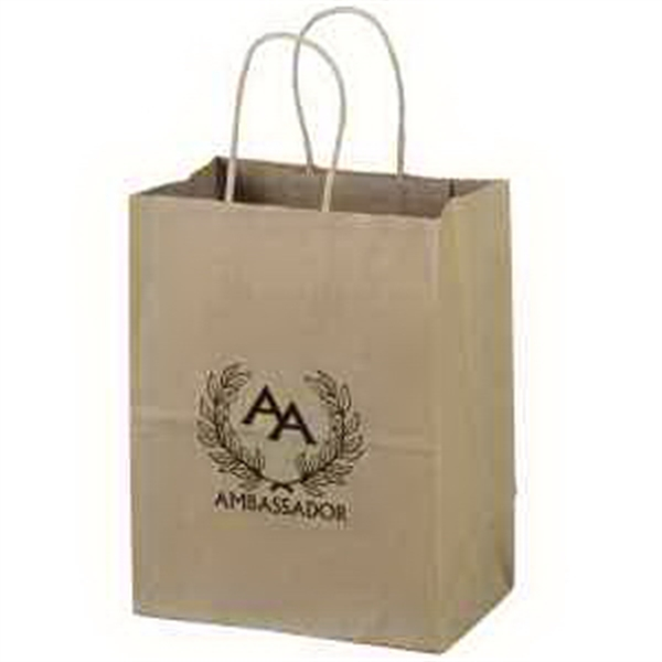 Small Environmentally Friendly Paper Bags, Custom Imprinted With Your Logo!