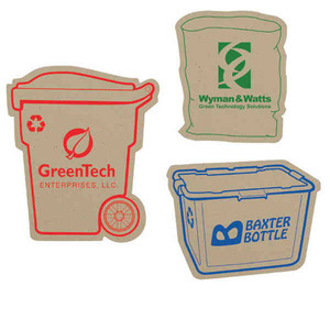 Custom Printed Paper Bag Recycled Material Magnets