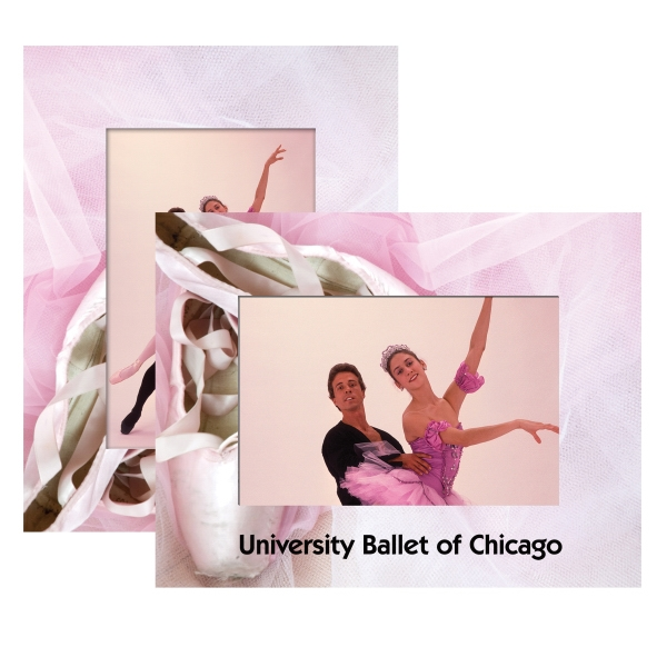 Ballet Paper Picture Frames, Custom Made With Your Logo!