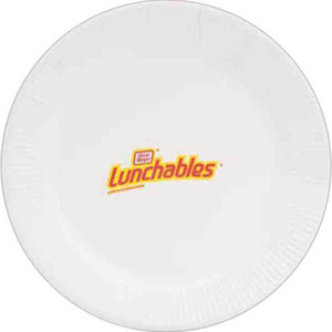 Paper Plates, Custom Imprinted With Your Logo!