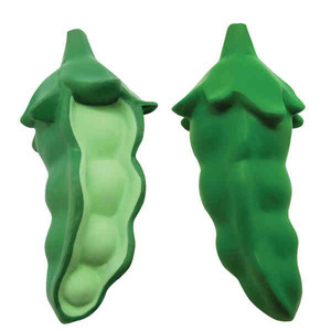 Custom Imprinted Pea Stress Relievers