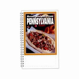 Custom Printed Pennsylvania State Cookbooks