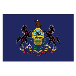 Custom Printed Pennsylvania State Flags