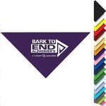 Custom Printed Pet Bandannas