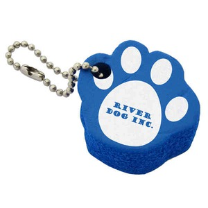 Custom Printed Pet Paw Floating Keychains