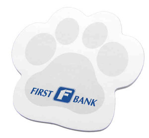 Custom Printed Pet Paw Shaped Note Pads