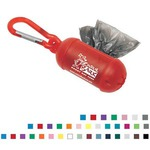 Custom Imprinted Pet Waste Bag Dispensers with Carabiners