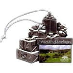 Custom Printed Pewter Christmas Ornaments
