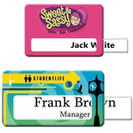 Custom Printed Photo Quality Name Badges and Tags