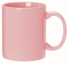 Custom Imprinted Pink Color Mugs