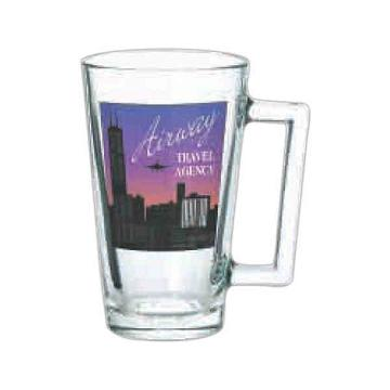 Custom Printed Pint Glasses With A Handle