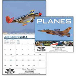 Custom Printed Planes Appointment Calendars