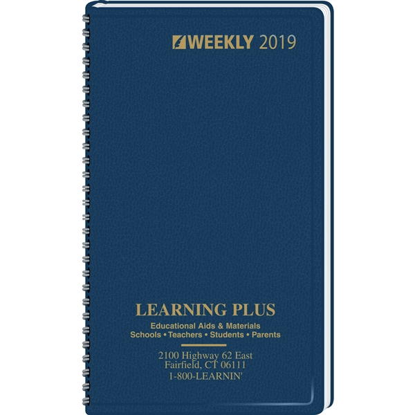 3 Day Service Monthly Pocket Planners, Custom Printed With Your Logo!