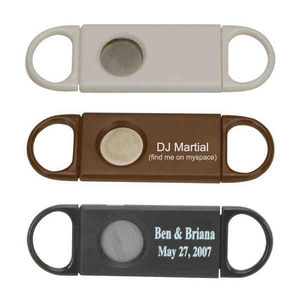 Custom Printed Plastic Cigar Cutters