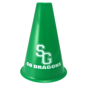 Plastic Megaphones, Custom Printed With Your Logo!
