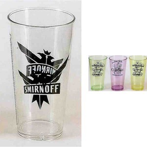 Custom Printed Plastic Pint Glasses