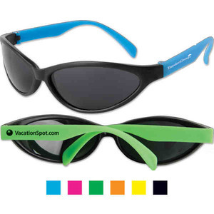 Plastic Sunglasses, Custom Imprinted With Your Logo!
