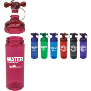Custom Printed Plumbing Theme Water Bottles