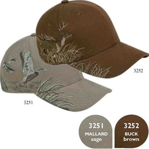 Custom Printed Baseball Cap Stock Design Pointer