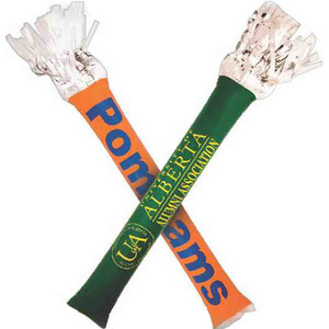 Custom Printed Pom Bam Noisemakers