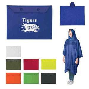 Custom Printed Emergency Ponchos