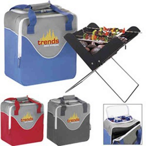 Portable Grills, Custom Imprinted With Your Logo!