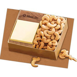 Post It Note and Food Gift Sets, Custom Printed With Your Logo!