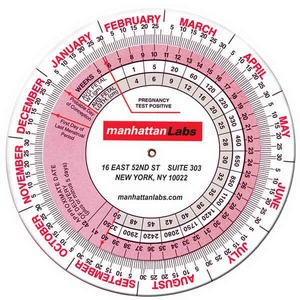 Pregnancy Calculators, Custom Made With Your Logo!