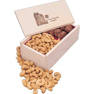 Premium Delights Gift Box Food Gift Sets, Custom Decorated With Your Logo!