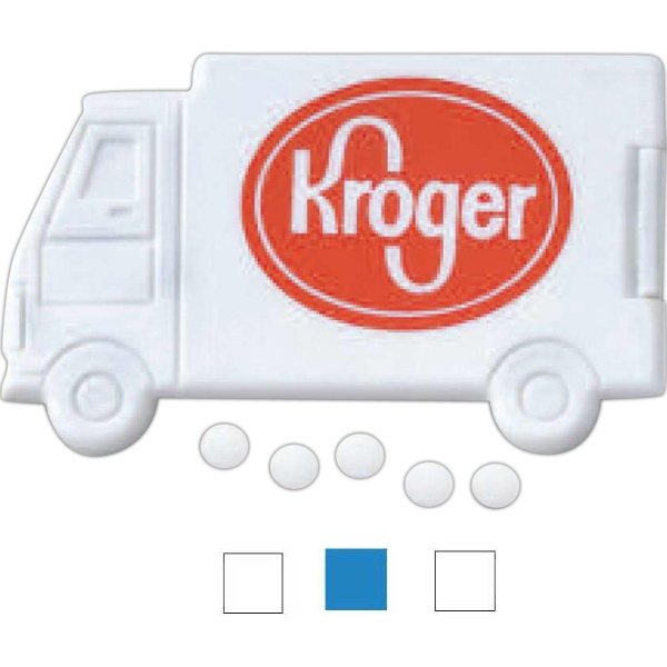 3 Day Service Truck Shaped Mints, Customized With Your Logo!