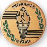 Custom Engraved Presidents Award Emblems and Seals