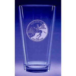 Custom Printed Pub Glass Crystal Gifts