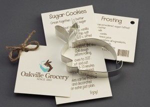 Custom Imprinted Rabbit Stock Shaped Cookie Cutters