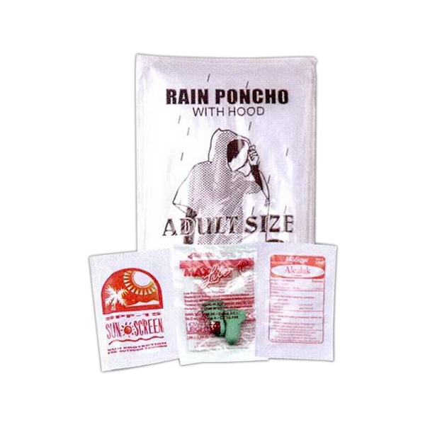 3 Day Service Racing Fan Kit Rain Ponchos, Custom Decorated With Your Logo!