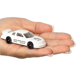 Custom Printed Racing Theme Die Cast Toy Cars