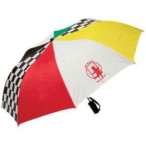 Custom Printed Racing Theme Umbrellas